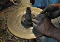 Experimental pottery workshop